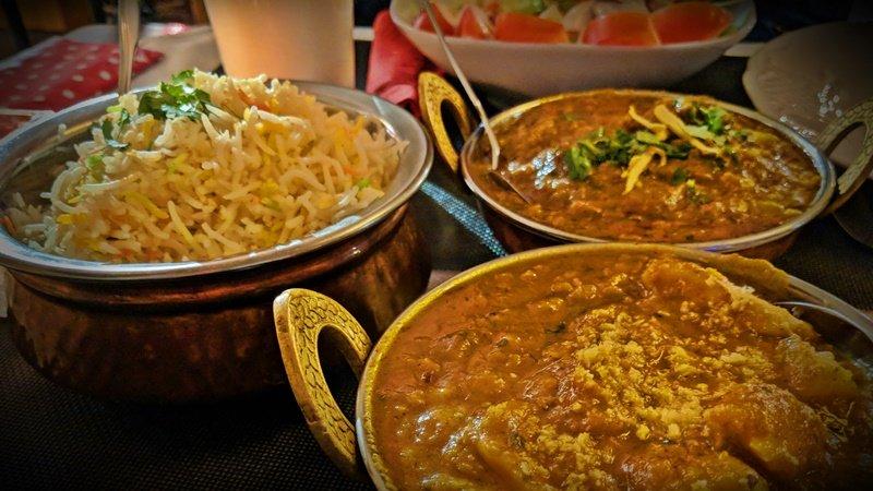 Indisches Essen im Kraichgau