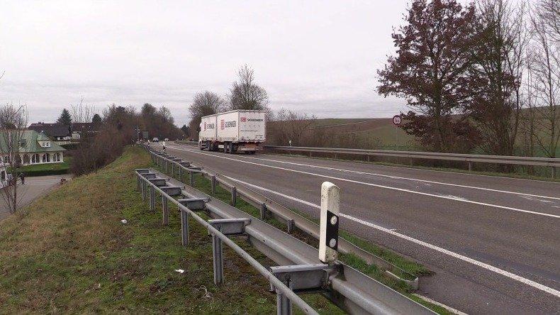 12 Monate Baustelle bei Gondelsheim – B35 wird auf zwei Spuren verengt