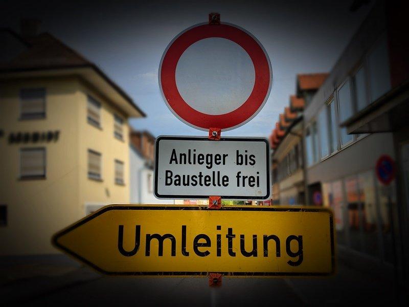 Ortsdurchfahrt Obergrombach vom 6. bis 9. September voll gesperrt