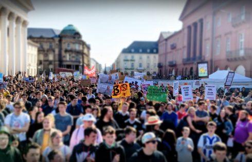 5000 Menschen demonstrieren in Karlsruhe gegen Uploadfilter