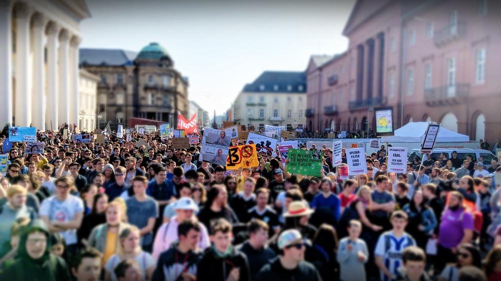 Demonstration Karlsruhe