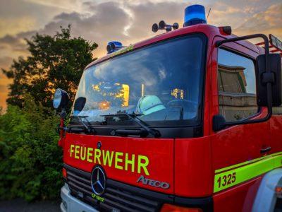 Kellerbrand in Bruchsal